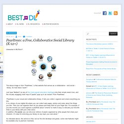 Pearltrees: a Free, Collaborative Social Library (K-12+) - Best of Digital Learning