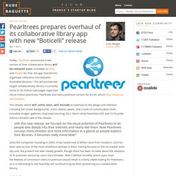 "Pearltrees overhauls its collaborative library app with new ""Boticelli"" release"