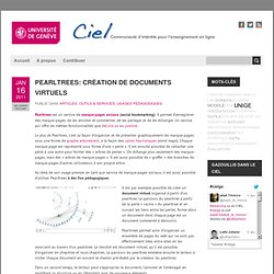 Pearltrees: création de documents virtuels « CIEL