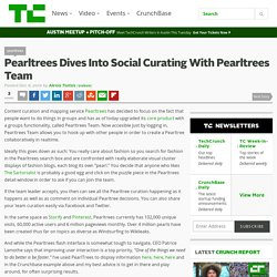 Pearltrees Dives Into Social Curating With Pearltrees Team