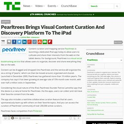Pearltrees Brings Visual Content Curation And Discovery Platform To The iPad