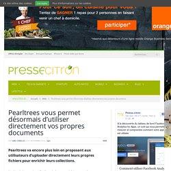 Pearltrees vous permet désormais d'utiliser directement vos propres documents