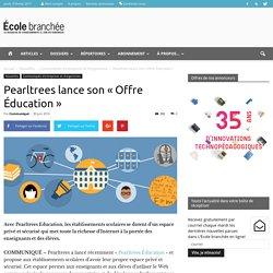 Pearltrees lance son « Offre Éducation » - École branchée