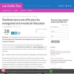Pearltrees lance une offre pour les enseignants et le monde de l'éducation