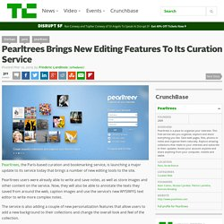 Pearltrees Brings New Editing Features To Its Curation Service