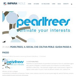 Pearltrees, il social che coltiva perle: guida passo a passo - Imparafacile: formazione consulenza su web e social media marketing