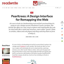 Pearltrees: A Design Interface for Remapping the Web - ReadWrite