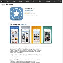 Pearltrees pour iPad sur l'iTunes App Store