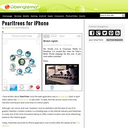Pearltrees for iPhone