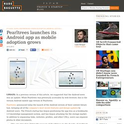 Pearltrees overhauls its Android app as mobile adoption grows