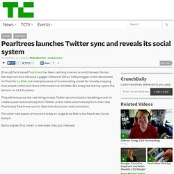 Pearltrees launches Twitter sync and reveals its social system