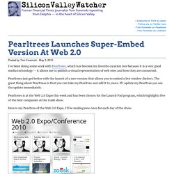 PearlTrees Launches Super-Embed Version At Web 2.0
