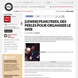 [LeWeb] Pearltrees, des perles pour organiser le web