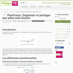 Pearltrees: Organiser et partager ses sites web favoris