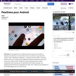 Pearltrees pour Android - Yahoo Actualités