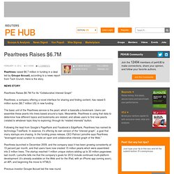 Pearltrees Raises $6.7M |