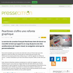 Pearltrees s'offre une refonte graphique