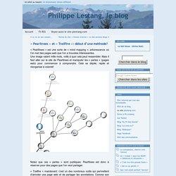 » «Pearltrees» et «Trailfire»: début d'une méthode?  Philip