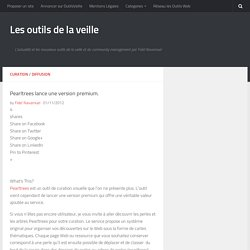 Pearltrees lance une version premium