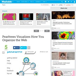 Pearltrees Visualizes How You Organize the Web
