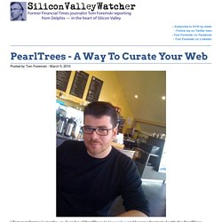 PearlTrees - A Way To Curate Your Web