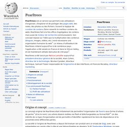 Pearltrees At Wikipedia