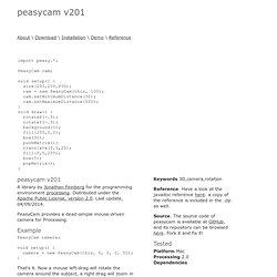 PeasyCam