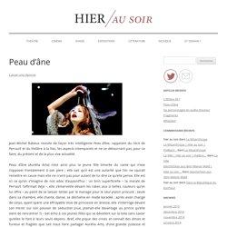 Peau d'Âne > 31-01-2015