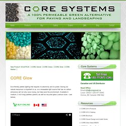 Core Glow pebbles for fun, colourful glow in the dark stones | Core Gravel