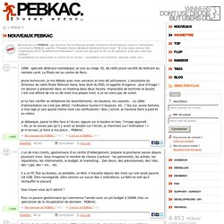 PEBKAC : Erreur informatique d'interface Chaise-Clavier