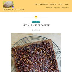 Pecan Pie Blondie