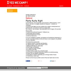 Pecha Kucha Night / YES WE CAMP! Marseille 2013