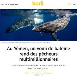Au Yémen, un vomi de baleine rend des pêcheurs multimillionnaires