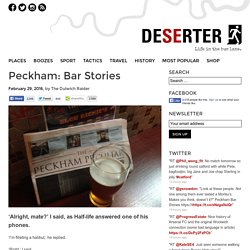 Peckham: Bar Stories