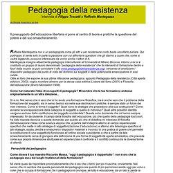 Pedagogia della resistenza