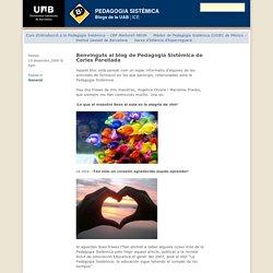 PEDAGOGIA SISTÈMICA – Benvinguts al blog de Pedagogia Sistèmica de Carles Parellada