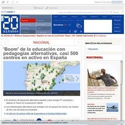 'Boom' de la educación con pedagogías alternativas, casi 500 centros en activo en España