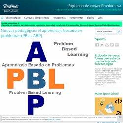 Nuevas pedagogías: el aprendizaje basado en problemas (PBL o ABP) - Explorador de innovación educativa - Fundación Telefónica