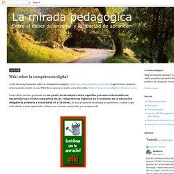 Wiki sobre la competencia digital