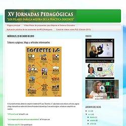 XV JORNADAS PEDAGÓGICAS CEP ANTEQUERA: Enlaces a páginas, blogs y artículos interesantes