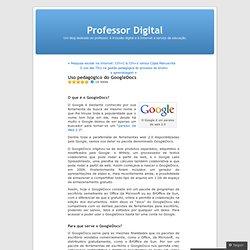 Uso pedagógico do GoogleDocs