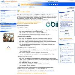 Le B2I avec OBII - B2I - C2I