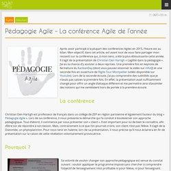 Blog » Pédagogie Agile – La conférence Agile de l'année