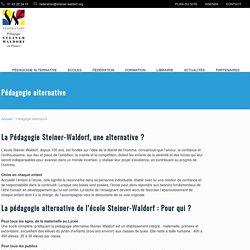 Pédagogie alternative Steiner-Waldorf : pourquoi, pour qui, comment ?