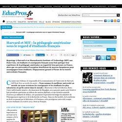Harvard et MIT : la pédagogie américaine sous le regard d'étudiants français