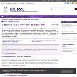 Laïcité : principe et pédagogie - Outils pédagogiques pour le 9 décembre journée anniversaire de la loi de 1905