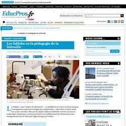 Les fablabs ou la pédagogie de la bidouille - Enquête sur Educpros