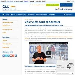 Pédagogie – Le CLL – CLL Centres de Langues