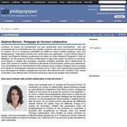Delphine Morand : Pédagogie de l'écriture collaborative