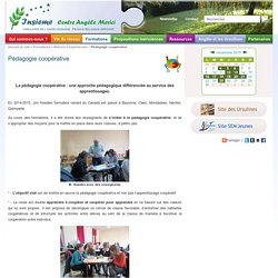 Pédagogie coopérative - Insieme - Centre Angèle Mérici